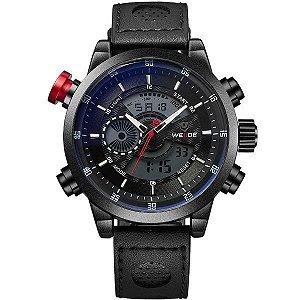 Relógio Masculino Weide Anadigi WH-3401-C Preto