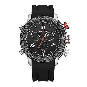 Relógio Masculino Weide Anadigi WH-5206 Vermelho