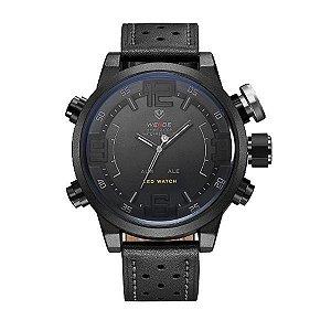 Relógio Masculino Weide Anadigi WH-5210 Cinza