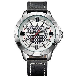 Relógio Masculino Weide Analógico UV-1608 Branco