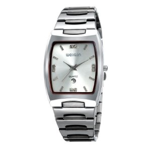 Relógio Masculino Weiqin Analógico W0054BG Prata