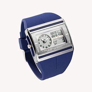Relógio Unissex Ohsen AnaDigi Esporte AD0518 Azul