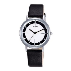 Relógio Unissex Skone Analógico Casual 9340 Preto