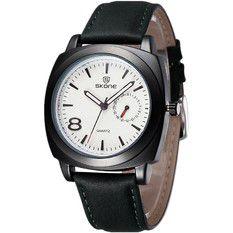 Relógio Masculino Analógico Skone 9385EG Preto