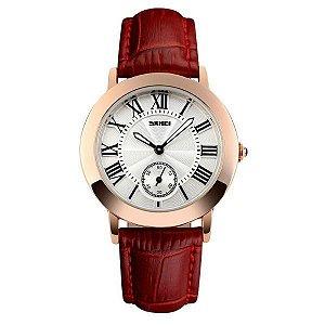 Relógio Feminino Skmei Analógico 1083 - Vermelho