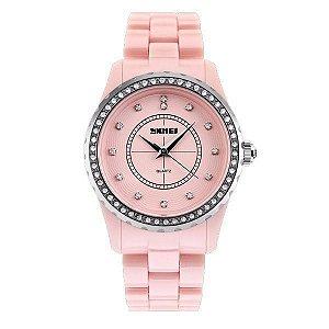 Relógio Feminino Skmei Analógico 1158 Rosa