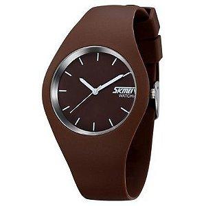 Relógio Skmei Analógico 9068 Marrom