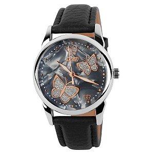 Relógio Feminino Skmei Analógico 9079 Preto