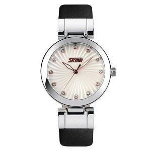Relógio Feminino Skmei Analógico 9086 Preto