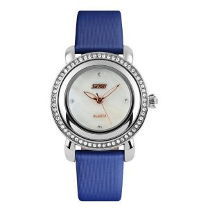 Relógio Feminino Skmei Analôgico 9093 Azul