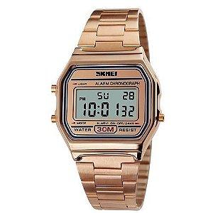 Relógio Feminino Skmei Digital 1123 Rosê