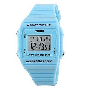 Relógio Feminino Skmei Digital 1136 Azul