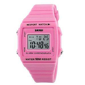 Relógio Feminino Skmei Digital 1136 Rosa