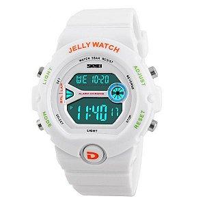 Relógio Feminino Skmei Digital 1153 Branco