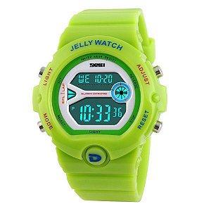 Relógio Feminino Skmei Digital 1153 Verde