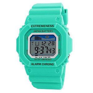 Relógio Feminino Skmei Digital 6918 Verde