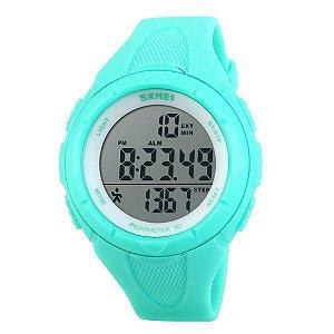 Relógio Feminino Skmei Pedômetro Digital 1108 Verde