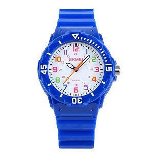 Relógio Infantil Skmei Analógico 1043 - Azul