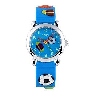 Relógio Infantil Skmei analógico 1047 - Azul