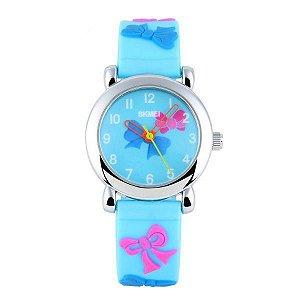 Relógio Infantil Skmei analógico 1047 Azul Claro