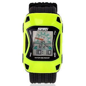 Relógio Infantil Skmei Digital 0961 Verde