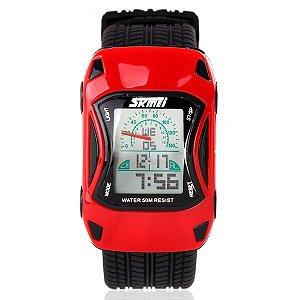 Relógio Infantil Skmei Digital 0961 Vermelho