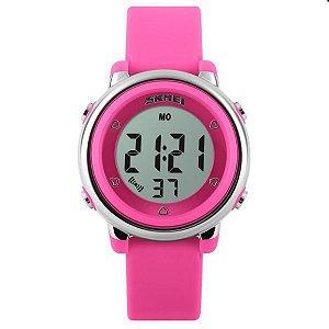 Relógio Infantil Skmei Digital 1100 Rosa