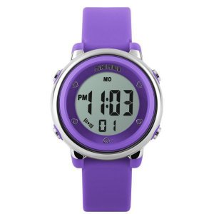 Relógio Infantil Menina Skmei Digital 1100 - Roxo