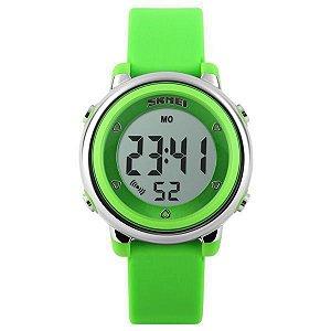 Relógio Infantil Menina Skmei Digital 1100 - Verde