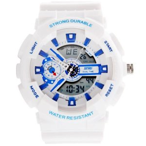 Relógio Masculino Skmei AnaDigi 0929 - Branco
