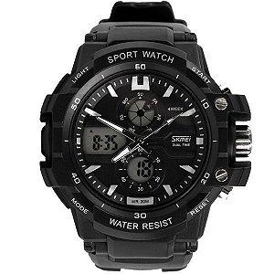 Relógio Masculino Skmei Anadigi 0990 PT-BR