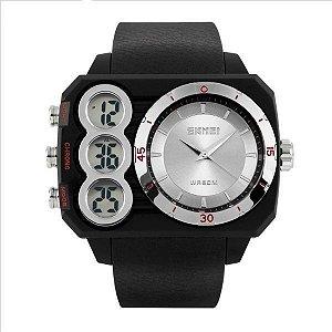 Relógio Masculino Skmei Anadigi 1090 PR