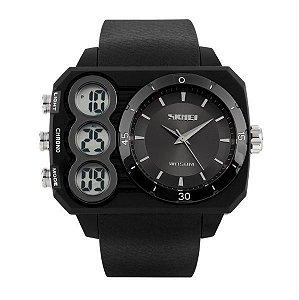 Relógio Masculino Skmei Anadigi 1090 Preto