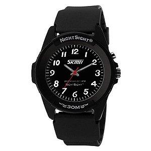 Relógio Masculino Skmei Analógico 0887 Preto