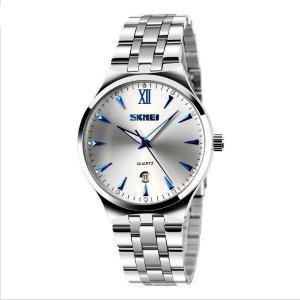 Relógio Masculino Skmei Analógico 9071 PR-AZ