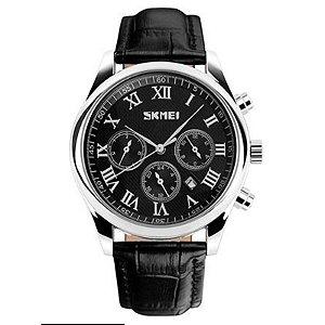 Relógio Masculino Skmei Analógico 9078 Preto