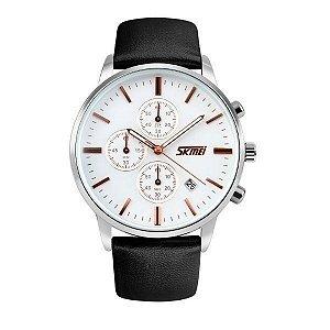 Relógio Masculino Skmei Analógico 9103 PR