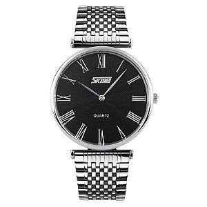 Relógio Masculino Skmei Analógico 9105 Preto