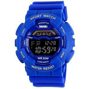 Relógio Masculino Skmei Digital 1012 Azul