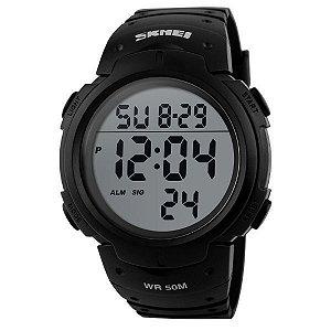 Relógio Masculino Skmei Digital 1068 Preto-Cinza
