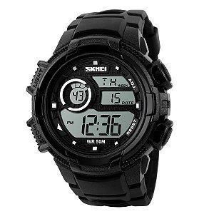 Relógio Masculino Skmei Digital 1113 Preto