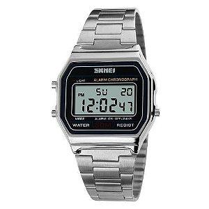 Relógio Skmei Digital 1123 Prata