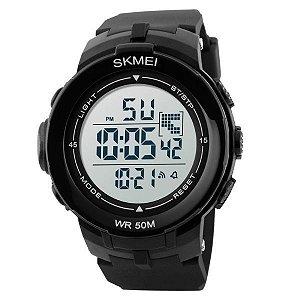 Relógio Masculino Skmei Digital 1127 Preto e Branco
