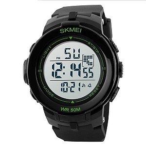 Relógio Masculino Skmei Digital 1127 Preto-Verde