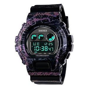 Relógio Masculino Skmei Digital 1150 Azul-Rosa