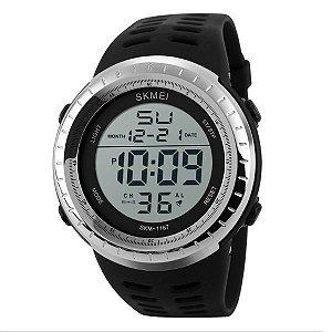 Relógio Masculino Skmei Digital 1167 Prata