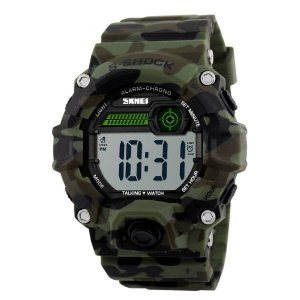 Relógio Masculino Skmei Digital 1197 Verde