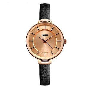 Relógio Feminino Skmei Analógico 1184 Preto
