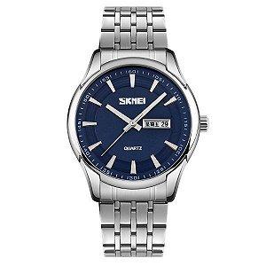 Relógio Masculino Skmei Analógico 9125 Azul