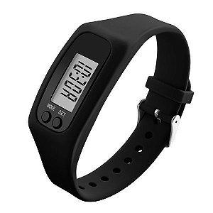 Relógio Masculino Skmei Pedômetro Digital 1207 Preto